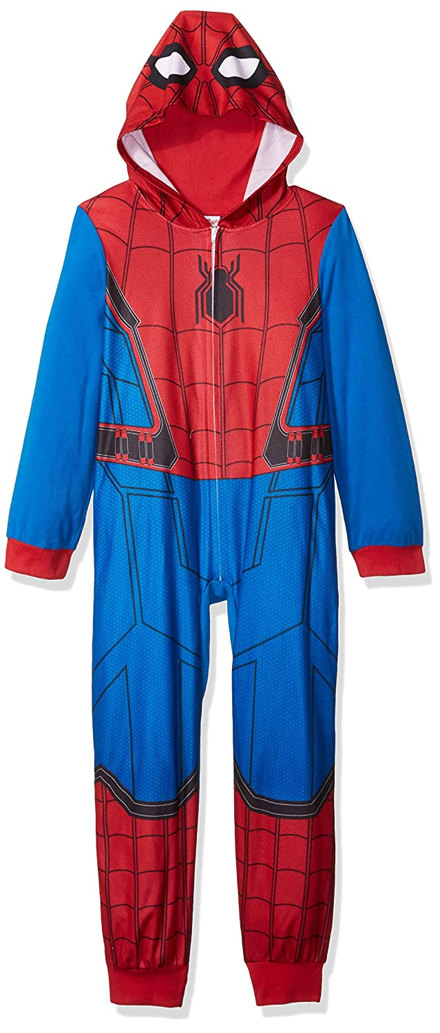 bfd161af2 Amazon.com  Marvel Boys  Big Spiderman Blanket Sleeper