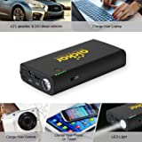 aickar Car Jump Starter, Upgraded Version 500A Peak 12000mAh Portable Car Battery Jump Starter with Jumper Cables Heavy Duty