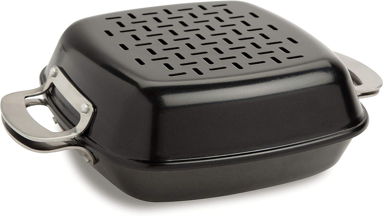 Black Cuisinart CGT-600 Non-Stick Pan Set Grill Cookware