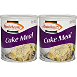 Manischewitz Cake Meal Non GMO Kosher For Passover 16 Oz Can (Pack of 2, Total of 32 Oz)