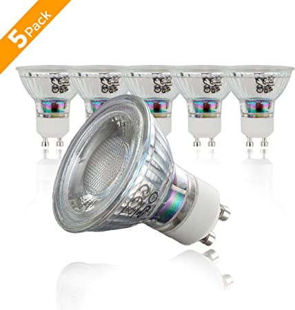 Philips DEL Spot gu10 DEL projecteur 4,6 W = 50 W froid 4000k ampoules halogènes 36d
