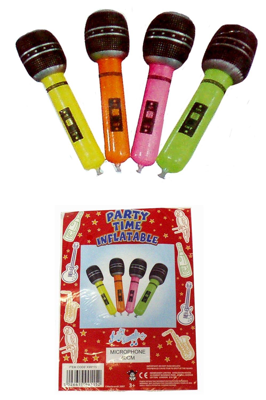4 Micrófono fiesta accesorios inflables