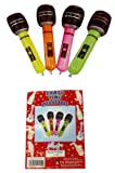 4 Inflatable Microphone Party Accessories
