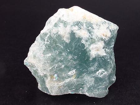 blue beryl Chunky Natural Aquamarine terminated Crystal