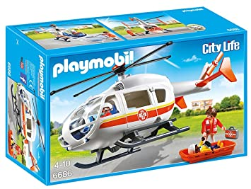 MdicalJeux Et Jouets 6686 Playmobil Hlicoptre oBdrCxeW