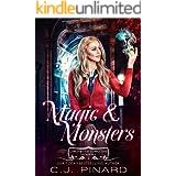 Magic & Monsters: A Reverse Harem Academy Paranormal Romance (Larchwood Corrective Academy Book 2)