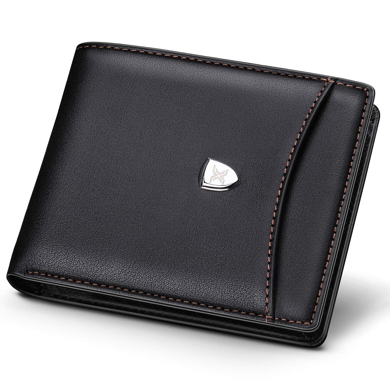 Ladies Womens Leather Zip Round Tri-Fold Money Coin Credit Card Holder Purse