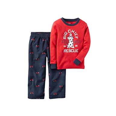 8d395a23c1d0 Amazon.com  Carters Baby Boys  Dalmation Puppy Micro-Fleece Pajama ...