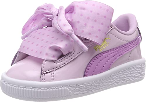 PUMA Basket Heart Stars Inf, Sneakers Basses Fille