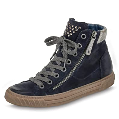 de5f945a563ee8 Paul Green Damen Sneaker 4681-003 blau 494597  Amazon.de  Schuhe ...
