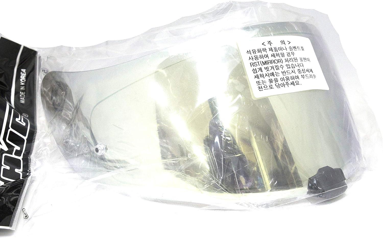 RST Mirror Gold HJC HJ-20M FG-17 IS-17 Helmet Shield Pinlock Shield