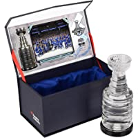 $79 » Tampa Bay Lightning 2021 Stanley Cup Champions Crystal Stanley Cup - Filled with Ice From the 2021 Stanley Cup Final - Other…
