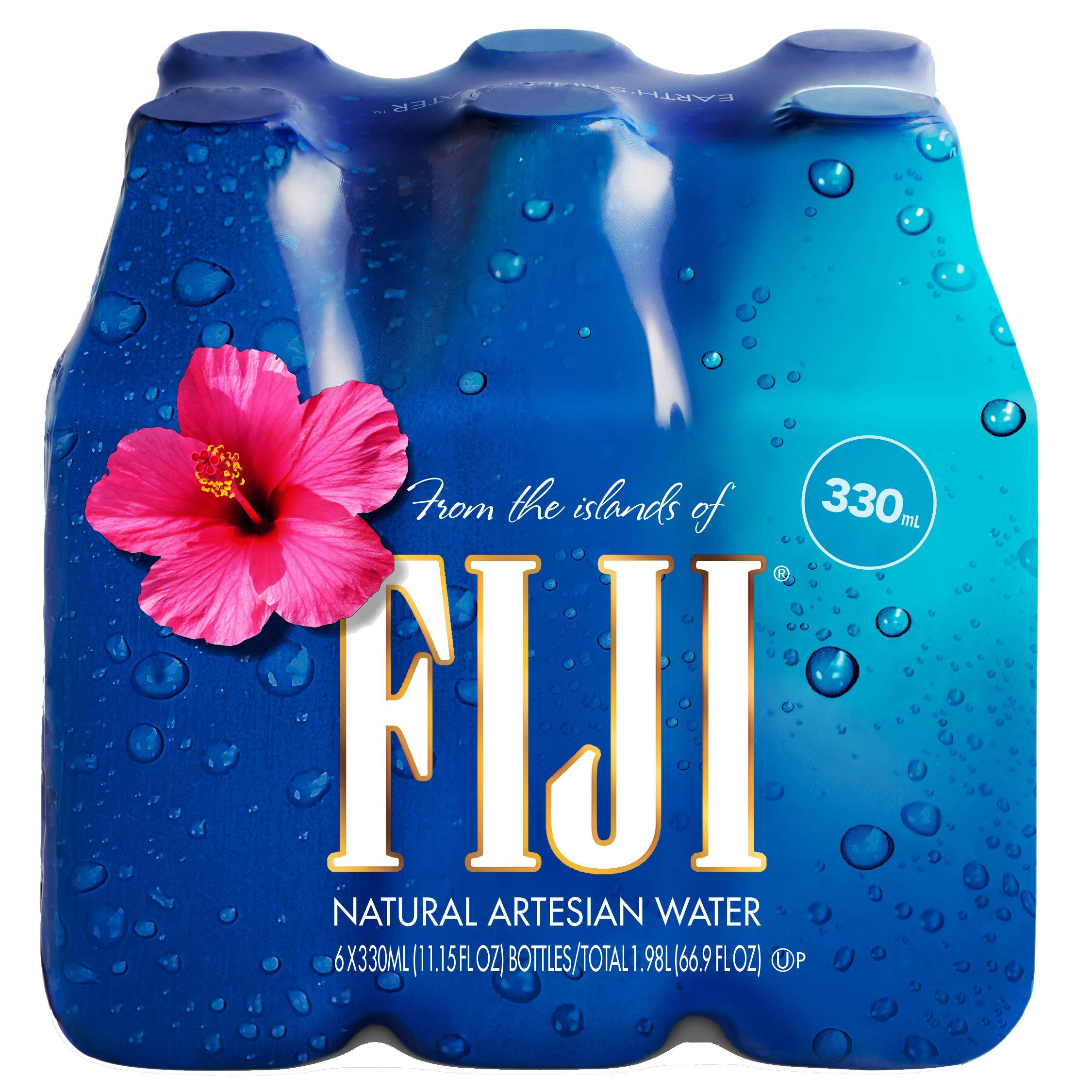 FIJI Natural Artesian Water, 11.15 Fl Oz Bottle (Pack of 6)