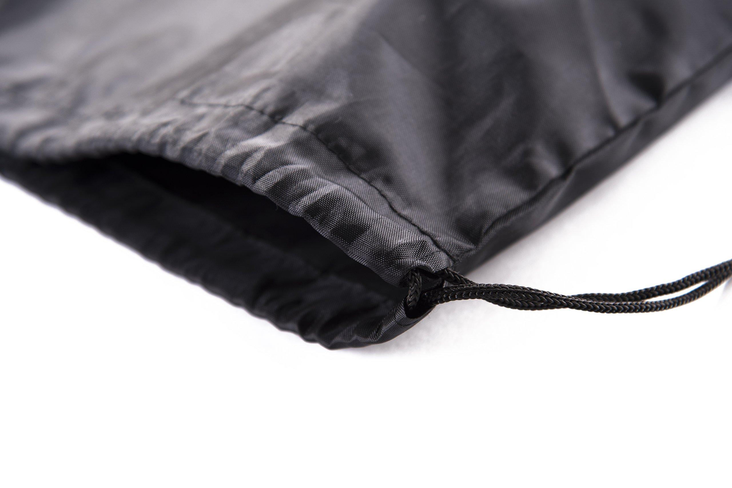 Mato & Hash Drawstring Bulk Bags Cinch Sacks Backpack Pull String Bags   15 Colors   1PK-100PK Available by Mato & Hash (Image #5)