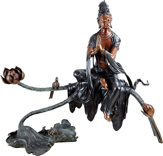 XXL Bronze Buddha Statue