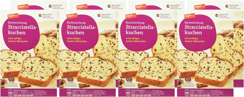 Tegut Kuchenbackmischung Stracciatellakuchen 8er Pack 8 X 500 G