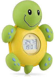 for measuring water temperature NUK 10256379 Digital bath thermometer petrol