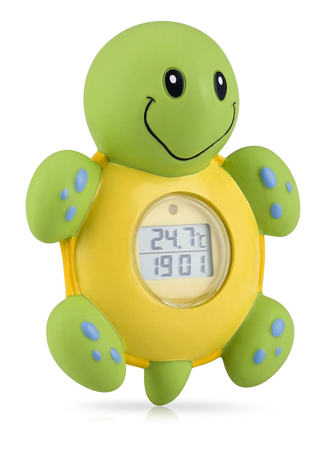 Amazon.com: Nuby Bath Time Clock and Thermometer, Styles May Vary ...