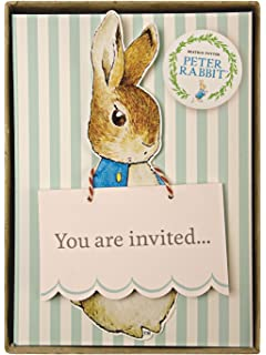 amazon com bunny riding a bike easter birthday party invitations