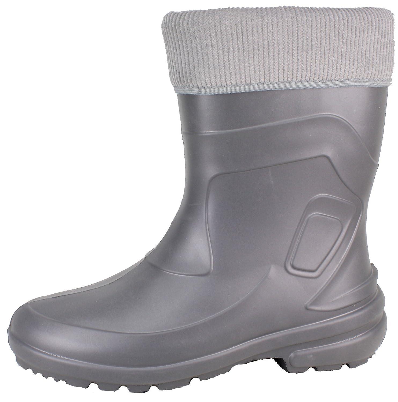 BOCKSTIEGEL® LINDA Donna - Stivali di gomma alla moda (Taglie: 36-42),  Colori:Black / grey;Dimensioni:36: Amazon.it: Sport e tempo libero