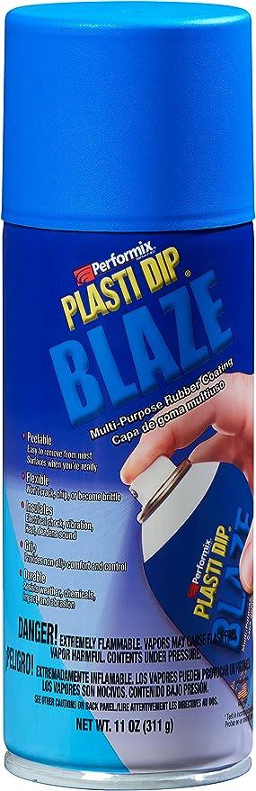 Performix Plasti Dip Sprühdose Sprühfolie Flüssiggummi Spraydose Blaze Blau 400 Ml Original Usa Produkt Auto