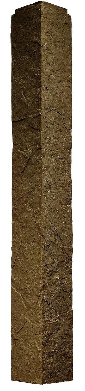 NextStone Sandstone 4 Foot Outside Corner Brown 2 Pack