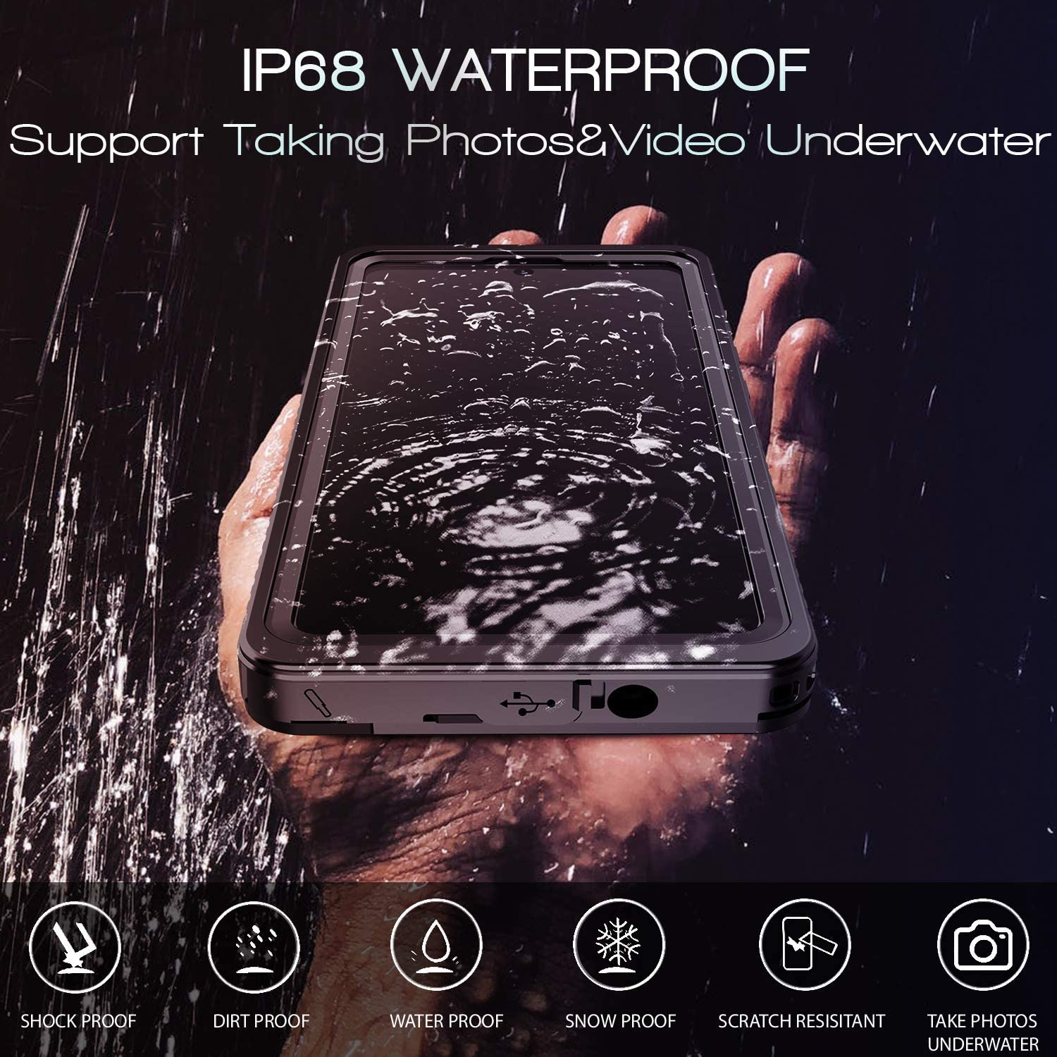 Waterproof Cases For Samsung Galaxy