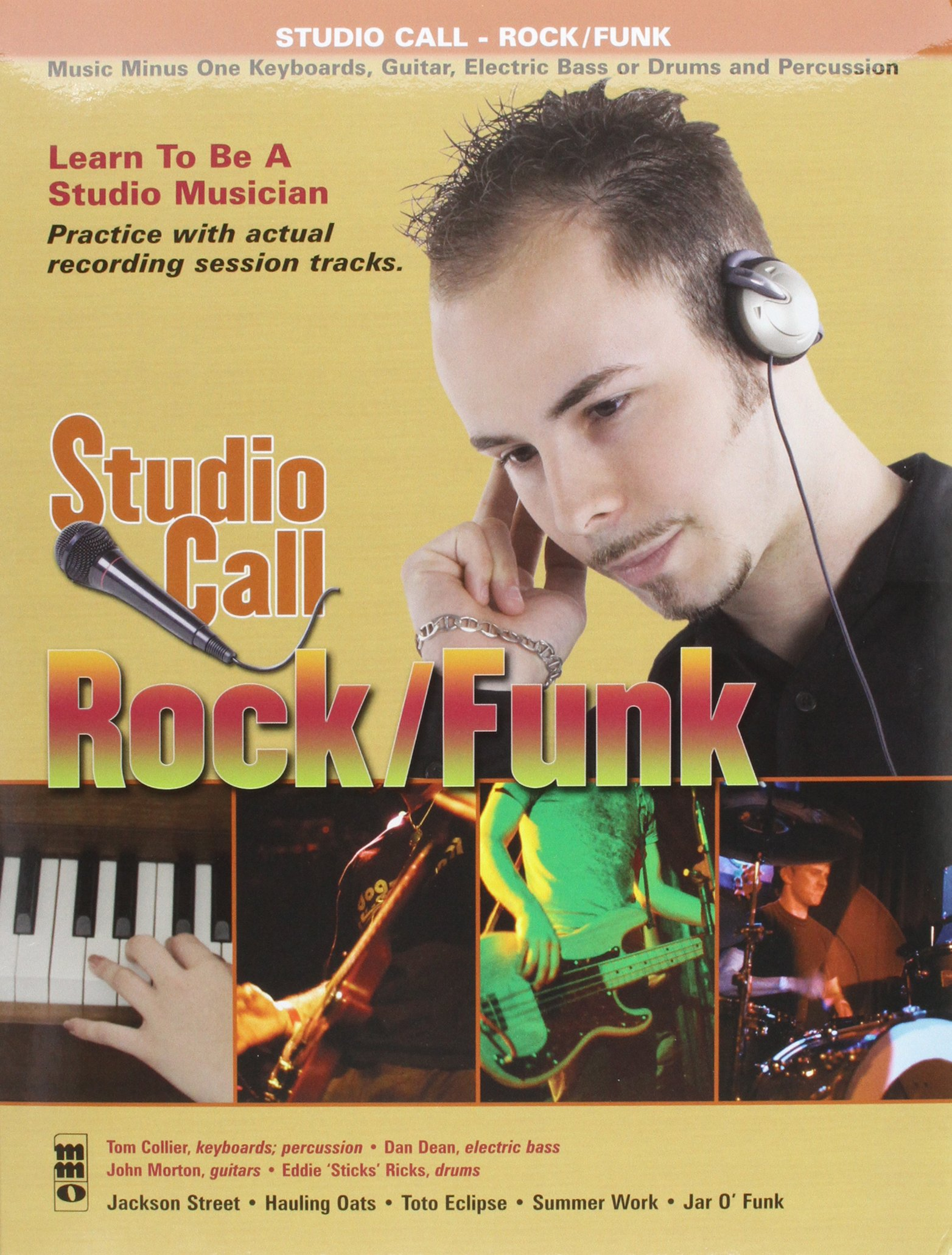 Studio Call: Rock/Funk - Drums: Learn to Be a Studio Musician! (Music Minus One (Unnumbered))
