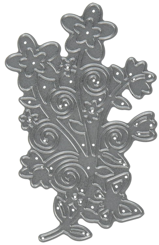 Die-Namites Die-Flower Scroll, 3.375