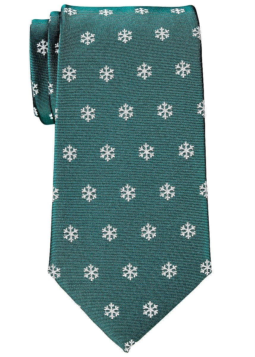 Retreez Herren Gewebte Weihnachten Krawatte Schneeflocken 8 cm ...