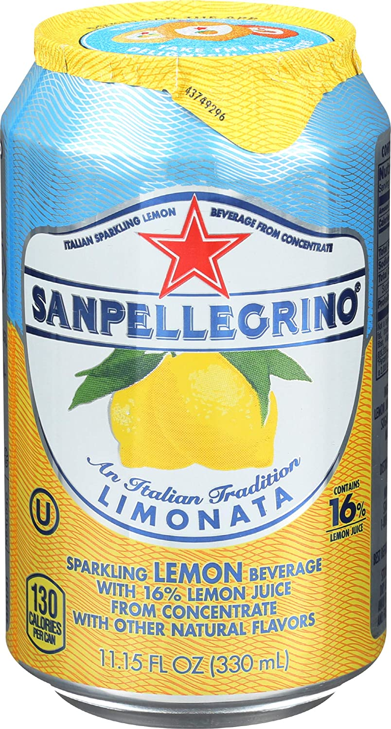 San Pellegrino, Soda Limonata Lemon Single, 11.15 Fl Oz