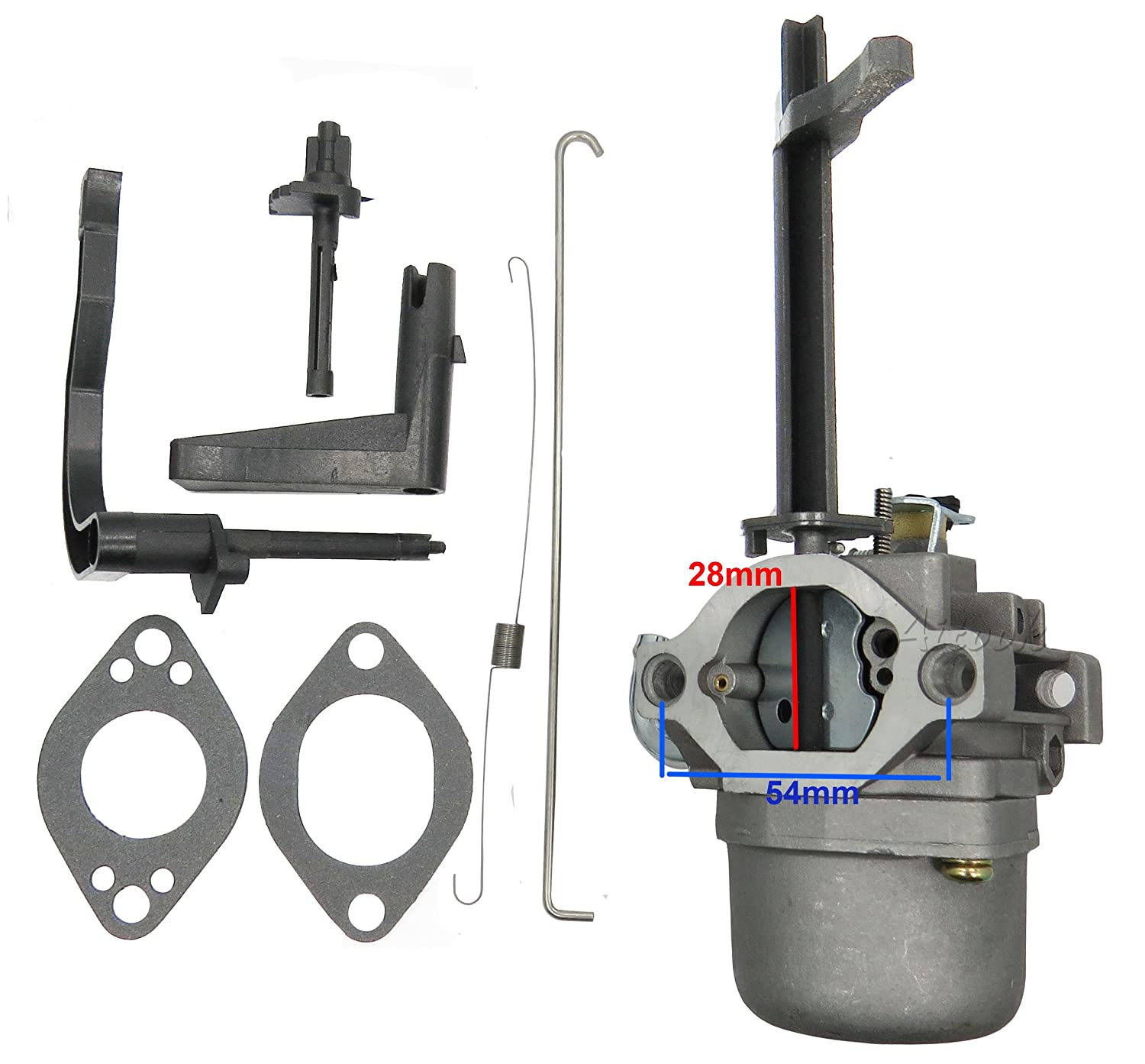 Aitook Replacement Carburetor Carb For Briggs And Lawn Mower Linkage Diagram Images Femalecelebrity Also Mtd Stratton 699966 697978 Garden Outdoor