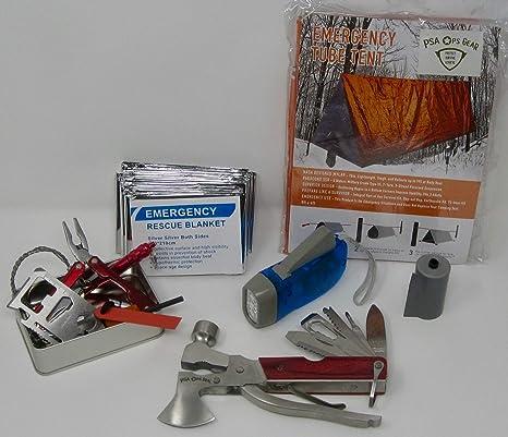 Amazon.com: Kit de seguridad de emergencia para refugios ...