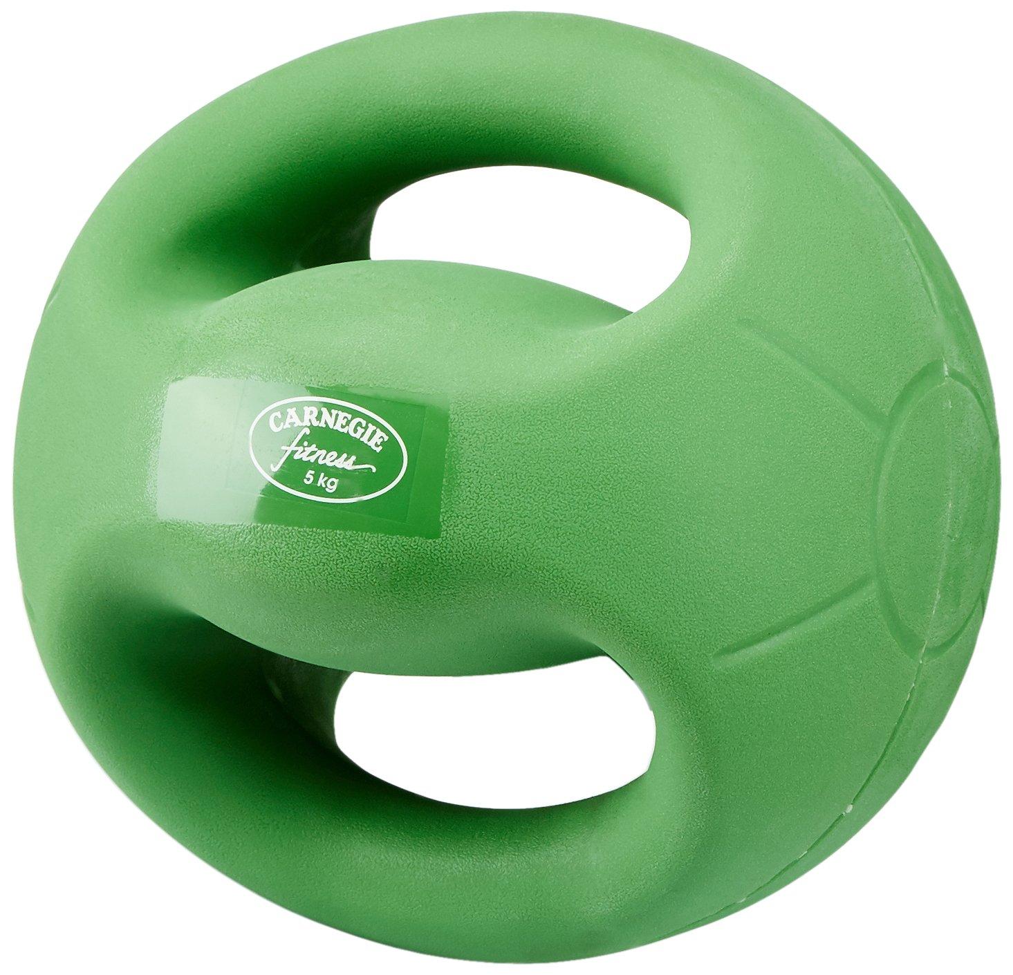 Carnegie 5 kg de Fuerza de fútbol balón Medicinal con Asas Fitness Peso  Pelota de Entrenamiento  Amazon.es  Deportes y aire libre 9f0af83c3d55
