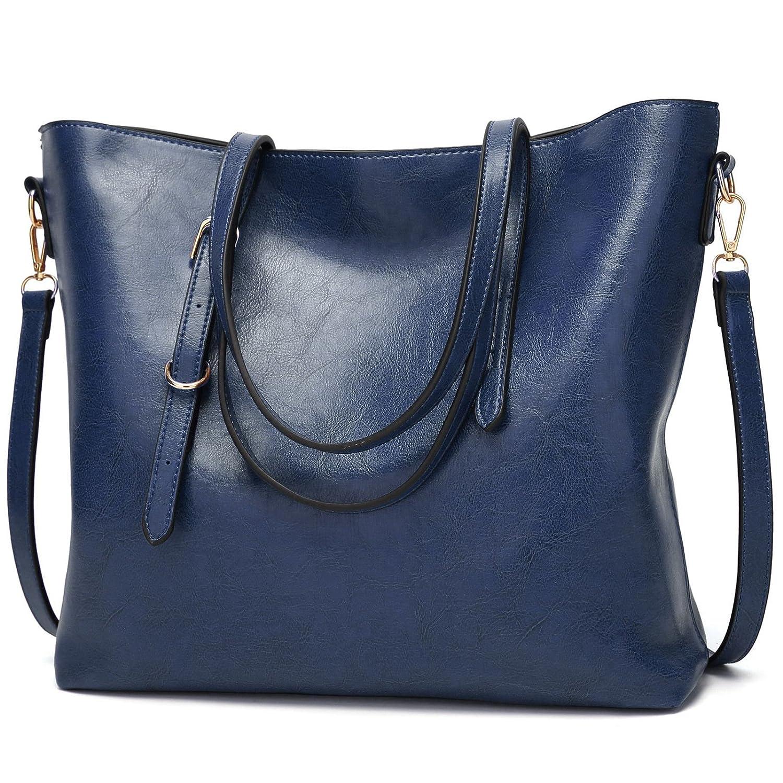 TcIFE Handtasche Groß Damen Handtaschen Für Frauen Umhängetasche Taschen GZYB10140EU-Blue