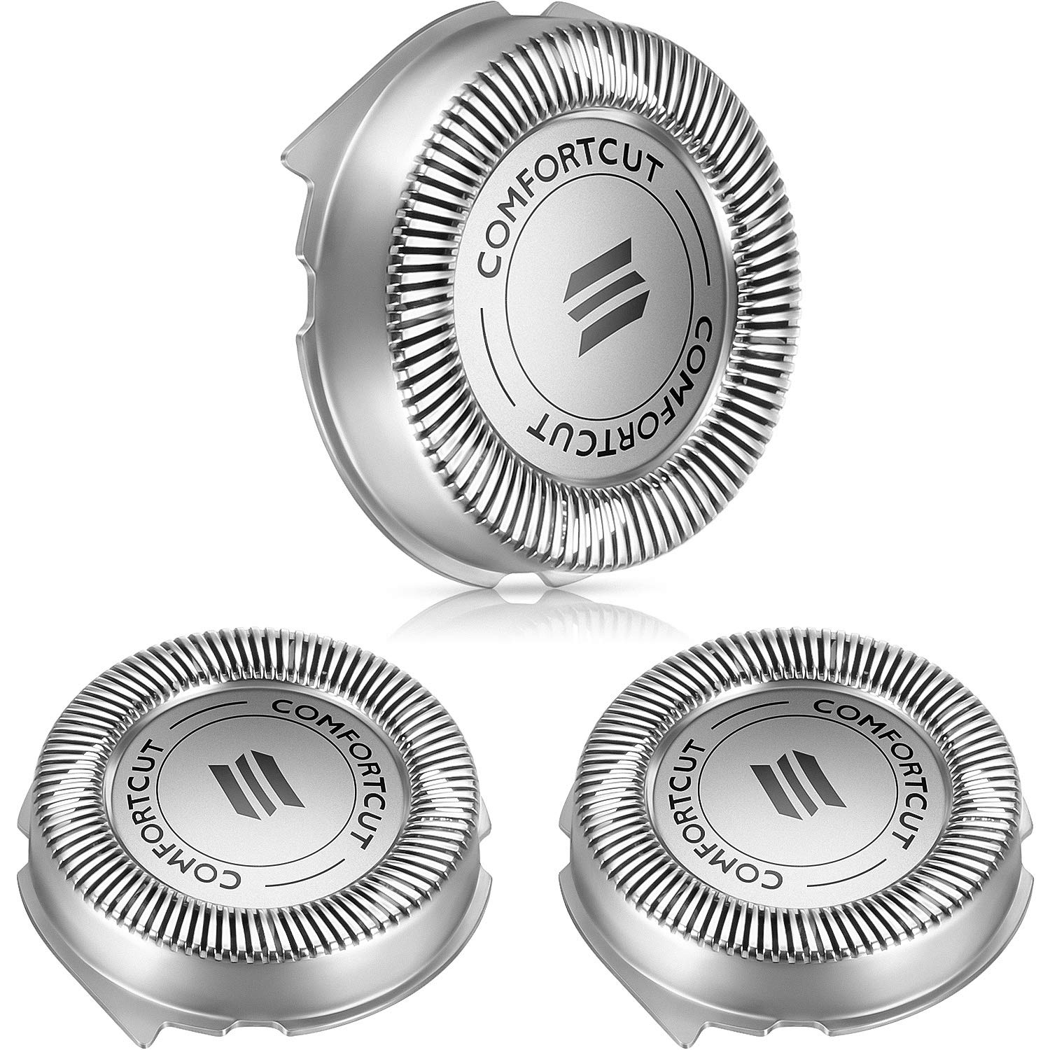 3 Packs SH30, 52 Shavers Replacement Heads Precision Blade Compatible with Series 1000, 2000, 3000 Electric Shavers Models and S738, Pointed and Easy to Cut