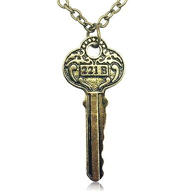 Vintage Sherlock Merchandise Gold Tone House Key Amazoncom