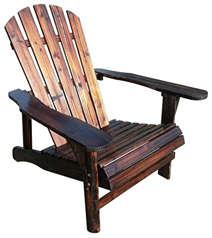 Leigh Country Char-Log Adirondack Chair  sc 1 st  Amazon.com : log adirondack chairs - Cheerinfomania.Com