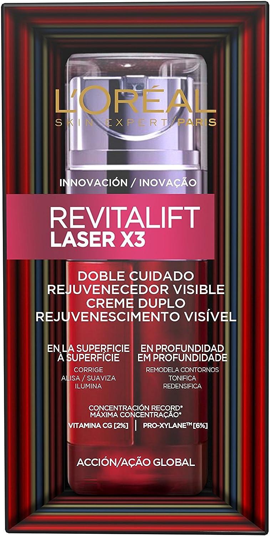 L'Oreal Paris Dermo Expertise - Sérum Cuidado Revitalift Laser x3 Doble Cuidado - 50 ml