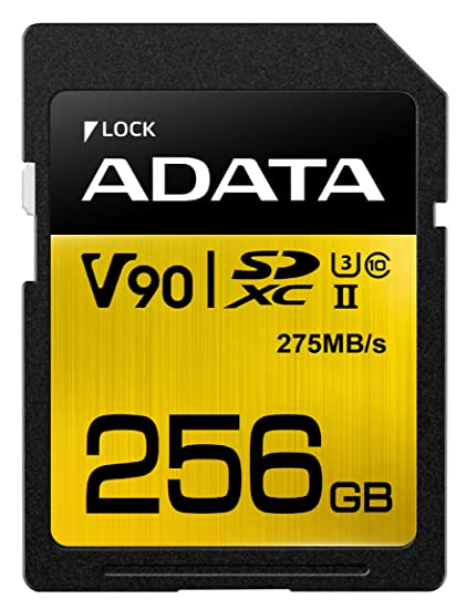 ADATA Premier One V90 Memoria Flash 256 GB SDXC Clase 10 UHS ...