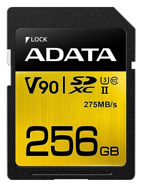 ADATA Premier One V90 Memoria Flash 256 GB SDXC Clase 10 UHS-II ...