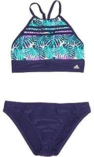 81188ec54f adidas Women's Bikini Athletic Two-Piece Swimsuit Teal/Purple/Navy Sz XL