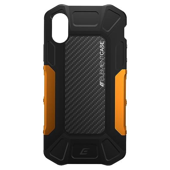 best loved 7c332 26d2a Element Case EMT-322-175EY-01 Formula Drop Tested Case for iPhone X/XS -  Black/Orange
