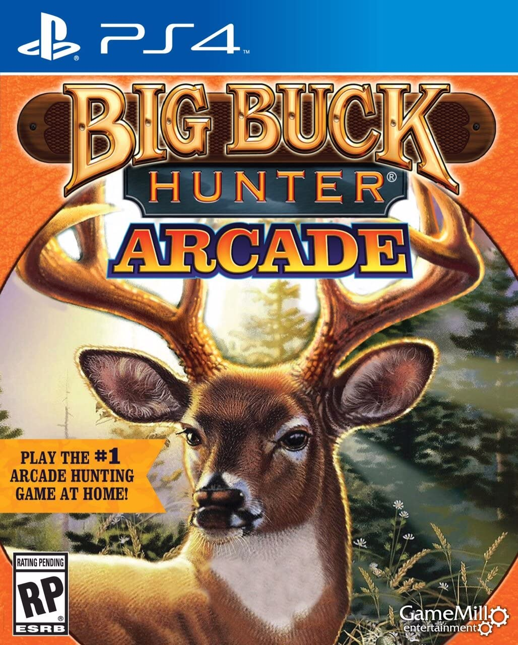 Big Buck Hunter Ps4 Playstation 4 Game Mill To Shoot A Deer With Rifle Diagram I Have Two Of These Rifles And Entertainment Video Games