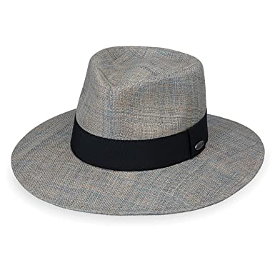 36cc491a3b0f9 Wallaroo Hat Company Women s Morgan Fedora - Grey - UPF 50+