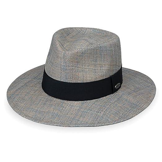 e01b70b7ff7 Wallaroo Hat Company Women s Morgan Fedora - Grey - UPF 50+