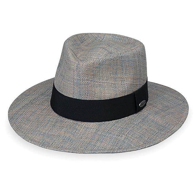6126b7332 Wallaroo Hat Company Women's Morgan Fedora - Grey - UPF 50+, Modern ...
