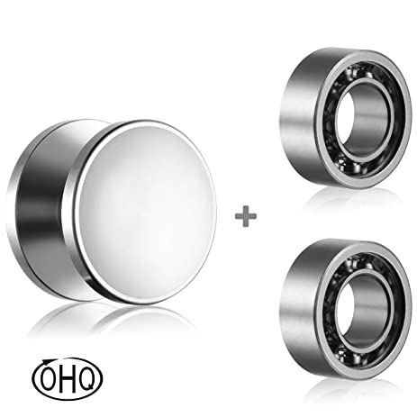 ball bearing fidget spinner. fidget spinner caps and r188 bearings set - replacement parts for ball bearing w