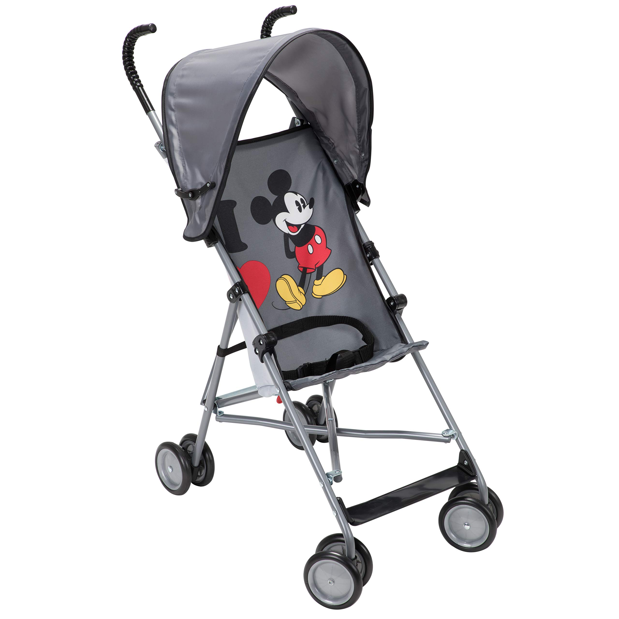 Disney Umbrella Stroller with Canopy, I Heart Mickey