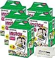 Fujifilm INSTAX Mini Instant Film 10 Pack = 100 SHEETS (White) For Fujifilm Mini 8 & Mini 9 Cameras